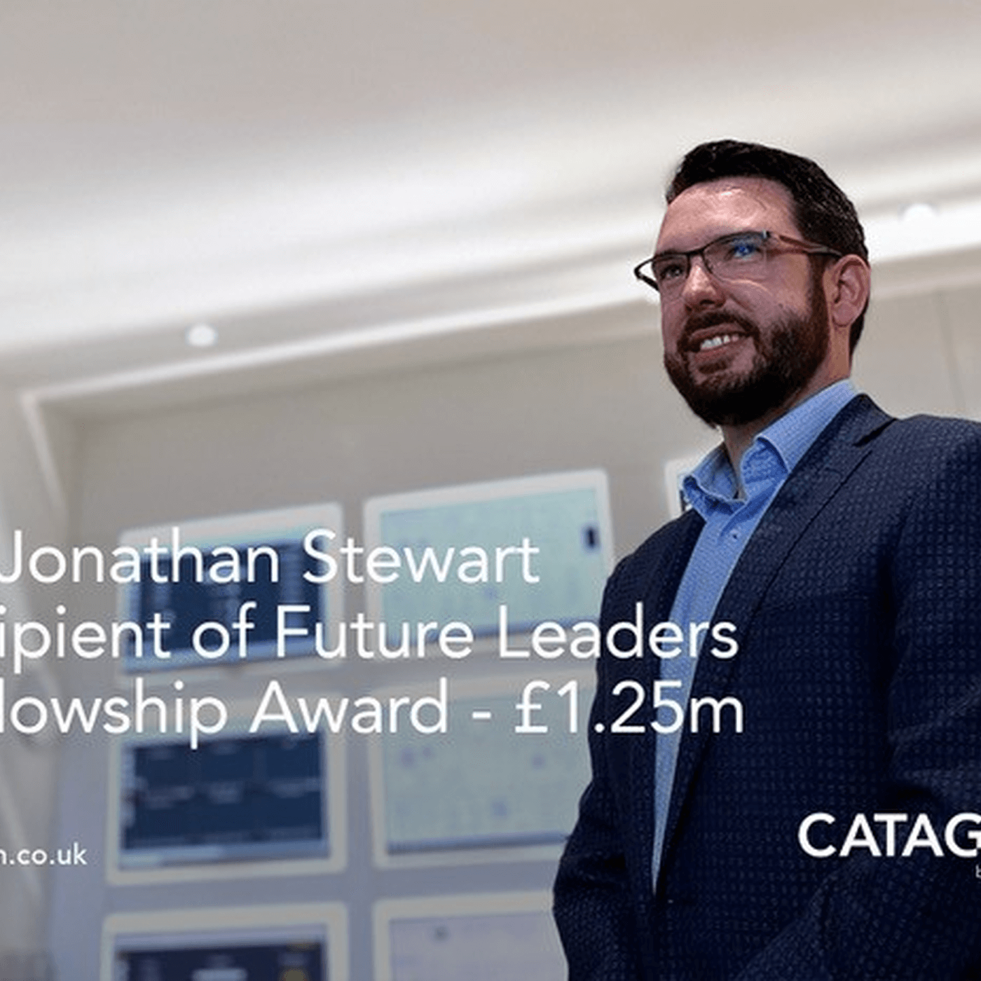 CATAGEN's Dr Jonathan Stewart wins £1.25m Future Leaders Fellowship Award